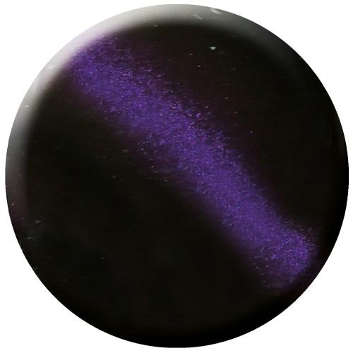 glac - purple strip - cat eye gel