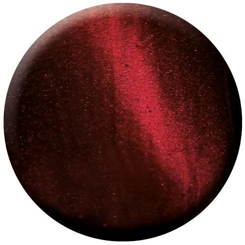 glac - red stripe - cat eye gel